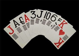 China Plastic PVC Waterproof Casino Standard Playing Cards Custom Offset Printing supplier