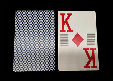 Normal Type Waterproof Pure Plastic Poker Cards High End for Casino