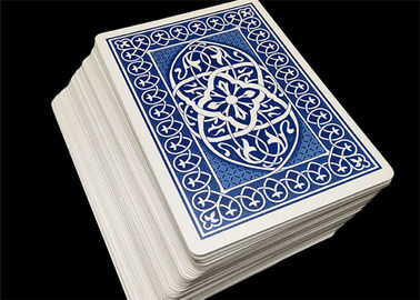 OEM Printable Plastic Playing Cards Club Use Matte Coat Varnishing Color Offset Printing
