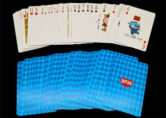 Luxurious Printed Custom Playing Cards Front and Back Poker /  Bridge Size Available