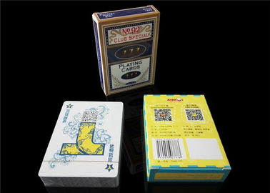 Grey Core Casino Card - Stock Paper Custom Design Playing Cards Offset Printing