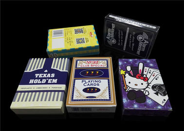 Germany Black Core Custom Made Poker Cards Professional Card - Stock Baccarat Black Jack