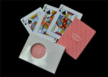 Standard Index Personalized Deck of Cards , Offset Printing Custom Poker Cards