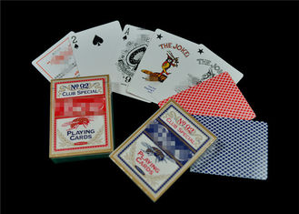 Full Color Paper Personalized Poker Cards Front and Back Custom Printing
