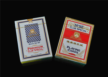 Custom Print Poker Playing Cards , Classic Animated Poker Card Sets