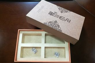Full Color Luxury Cardboard Rigid or Sturdy Gift Boxes Hot Stamping Finish
