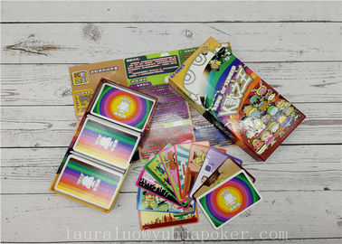 0.3mm Thickness Family Board Games YH24 Printing Booklets Lid And Bottom Box