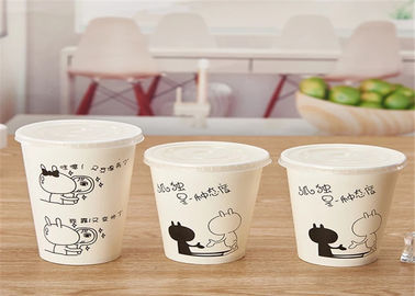 Eco Friendly Flexo Printing Pla Lined Paper Coffee Cups With Lid 400ml