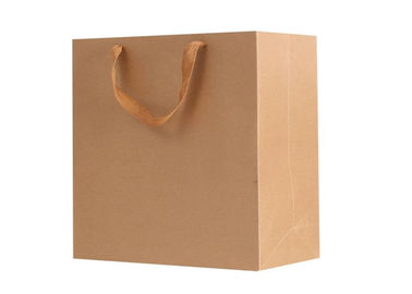 Professional Apparel Paper Bag Packaging For Shopping Mall / Supermarket