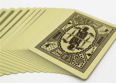 OEM Party Card Game Custom Printed Playing Cards , Custom Paper Board Card