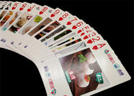 Kids Educational Game Playing Cards CMYK / PMS Printing for Learning