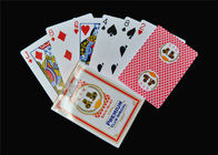100% Plastic PVC Poker Playing Cards Washable Jumbo Index Playing Cards