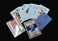 China Unique Poker Playing Cards Normal Poker Size Standard Index with Box company