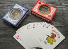 German Casino Playing Cards Offset Printing 310gsm Black Core Paper
