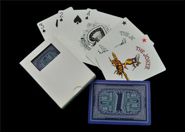 China Matte Linen Finish Casino Playing Cards , Full Color Custom Design Playing Cards factory