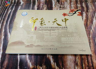 Full Color Offset Printing Personal Book Printing Offset Press Foil Gold Books YH7