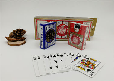 Baccarat Blackjack Casino Quality Playing Cards 2.5 X 3.5 Inch Bridge Size