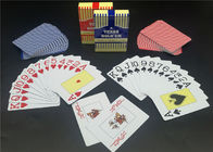 Jumboo Index Plastic Ploker Cards , Personalized PVC Poker Size Waterproof Playing Cards