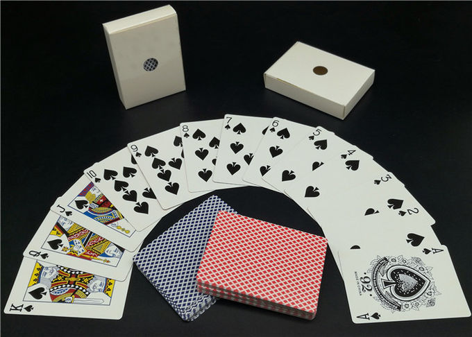 Germany Black Core Casino Playing Cards Printed Personalised Deck of Playing Cards