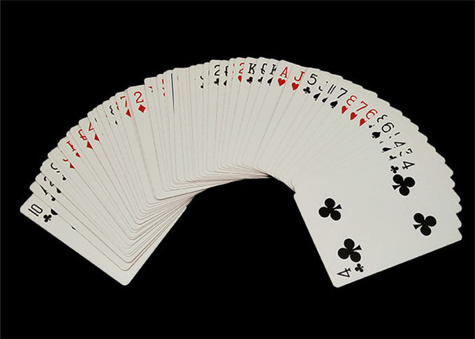 Custom Full Color Casino Playing Cards with CMYK / PMS Offset Printing